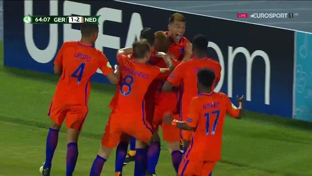 Niederlande schlägt Deutschland zum Auftakt der U19-EM