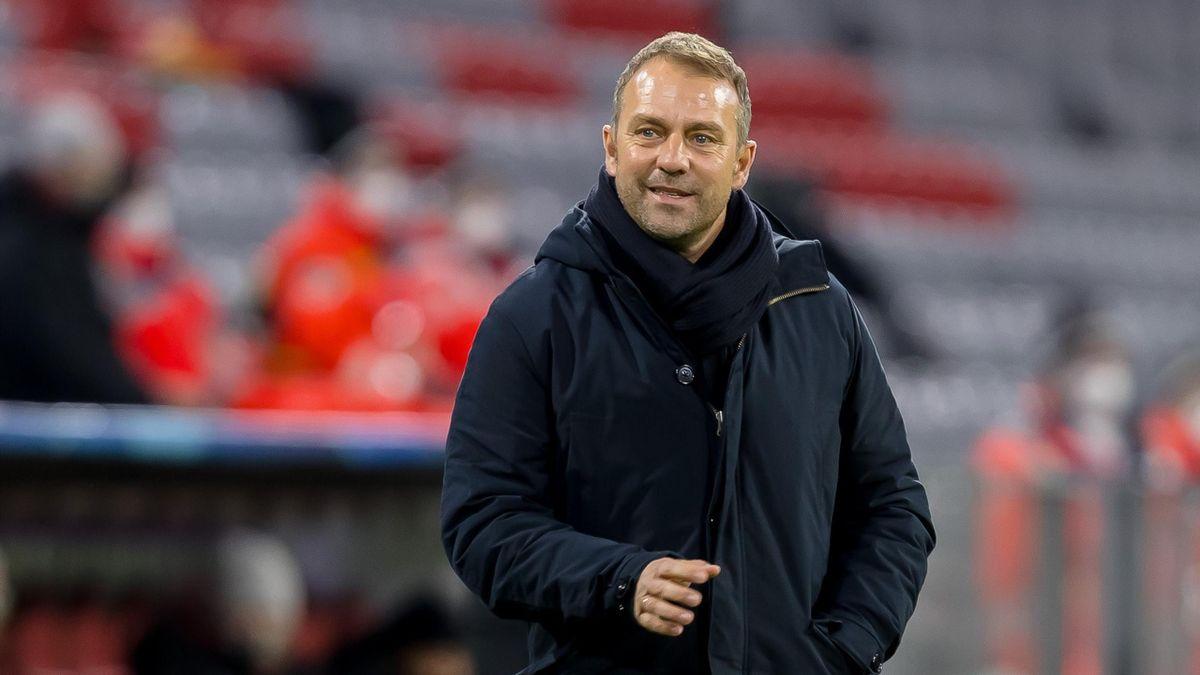 Bayern-Trainer Hansi Flick hat sich mit SPD-Politiker Karl Lauterbach ausgetauscht