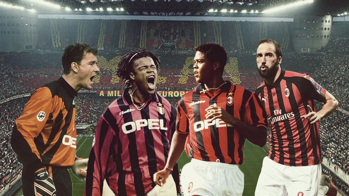 Jens Lehmann, Edgar Davids, Patrick Kluivert, Gonzalo Higuain: 4 giocatori presenti nella Flop 11 del Milan, Eurosport