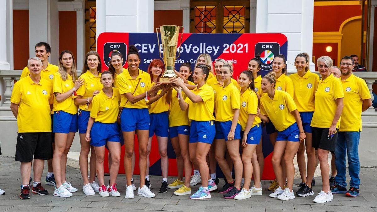 Echipa națională de volei feminin a României