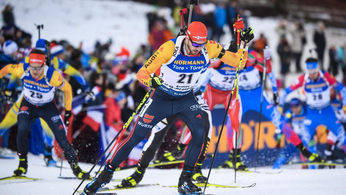 Biathlon in Le Grand Bornard: Arnd Peiffer