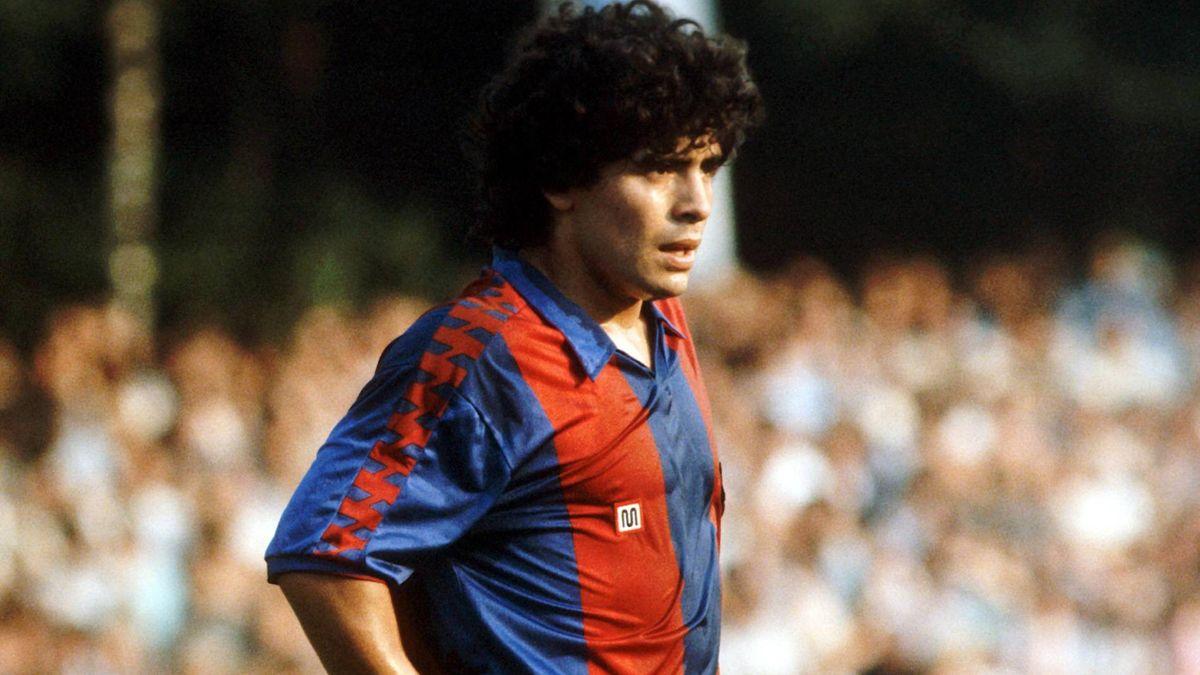 Diego Maradona, FC Barcelone, 1983.