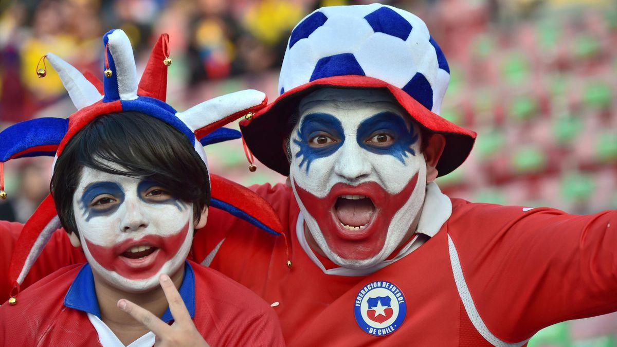 Des supporters du Chili lors de la Copa America 2015