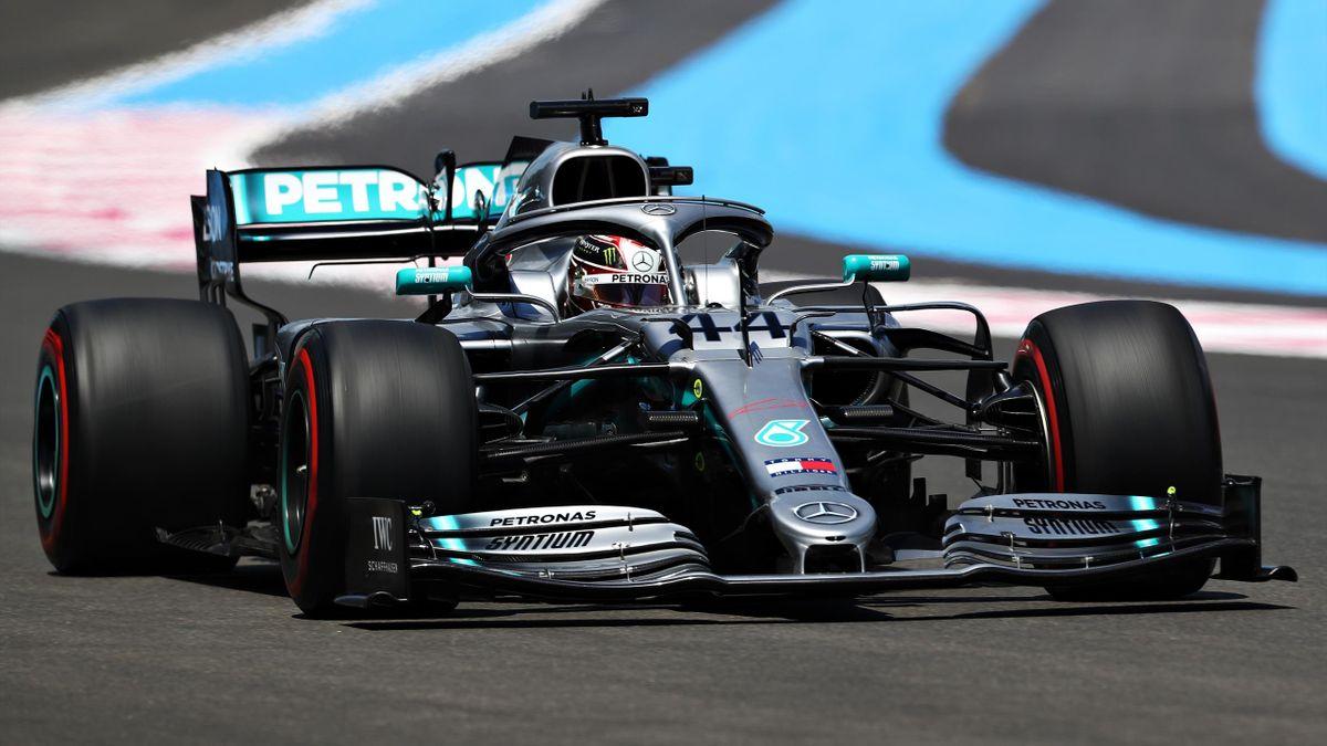 Lewis Hamilton (Mercedes) au GP de France 2019