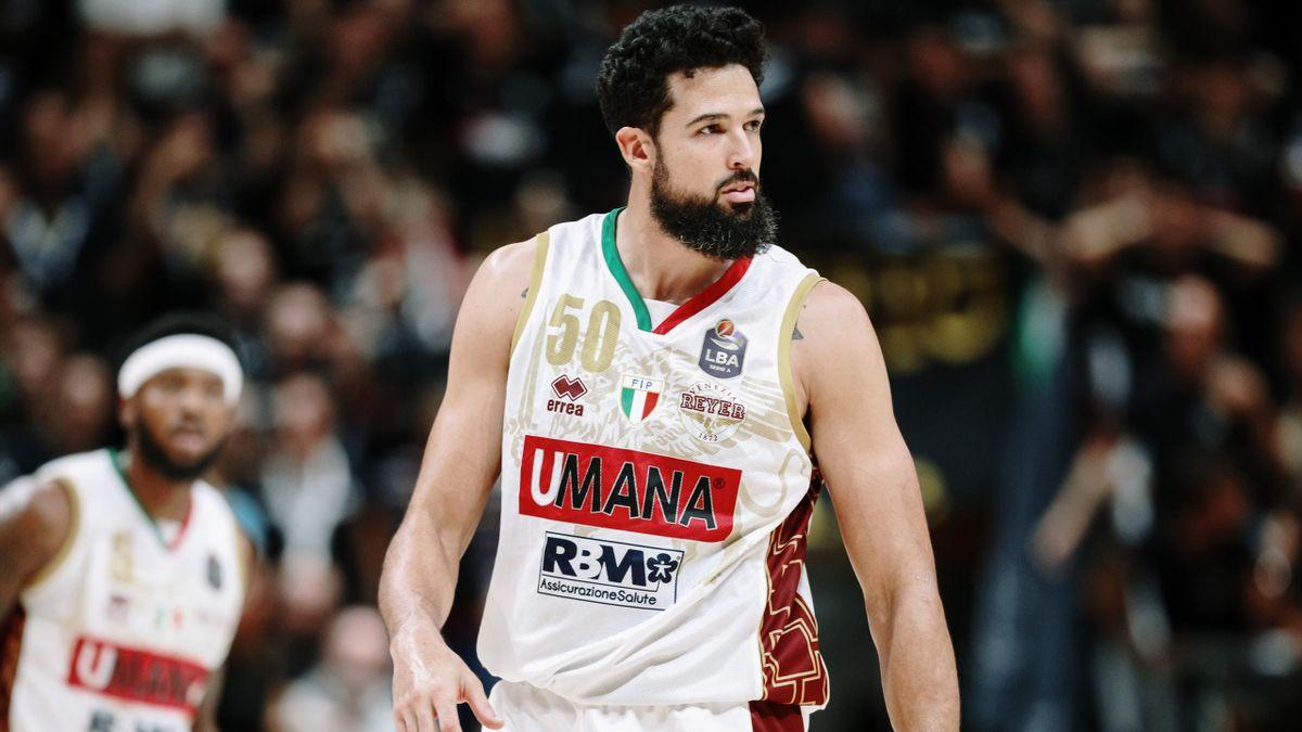 Mitchell Watt during the Italy Lega Basket of Serie A match between Segafredo Virtus Bologna and Umana Reyer Venezia at PalaDozza on October 6, 2019 in Bologna, Italy.