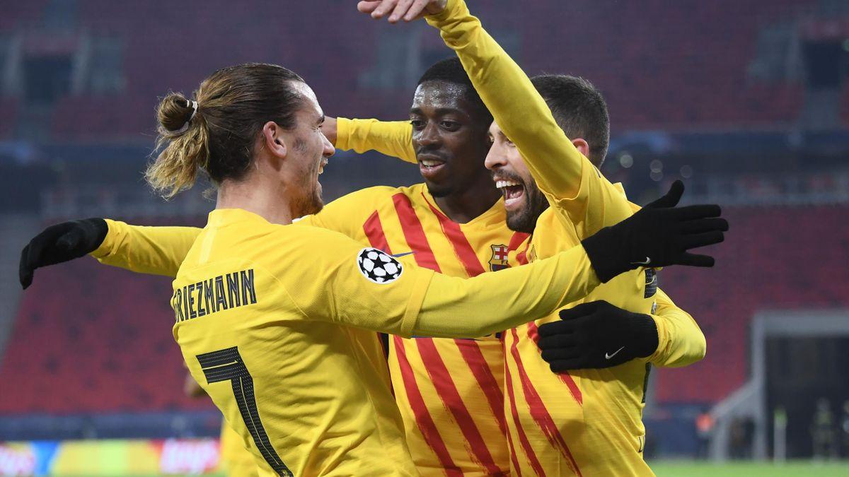 Antoine Griezmann scores again as Barcelona ease past Ferencvaros in Champions League - Eurosport