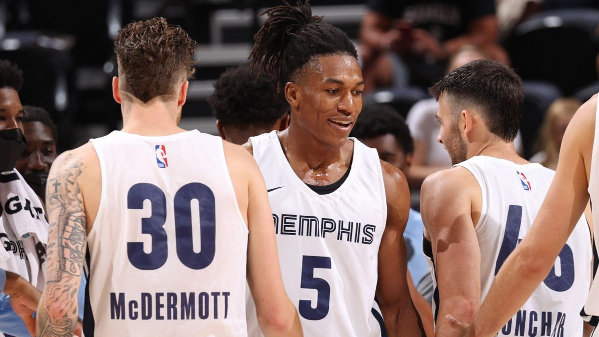 Yves Pons (Memphis Grizzlies) / NBA Summer League