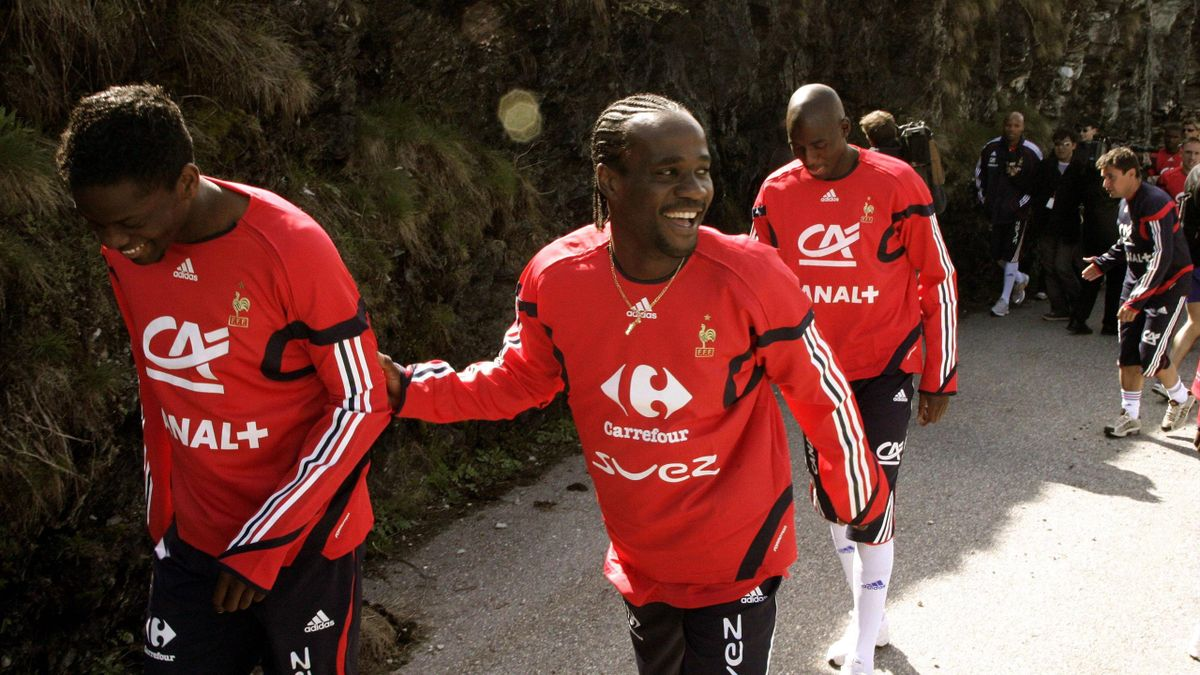 Pascal Chimbonda avec les Bleus en 2006