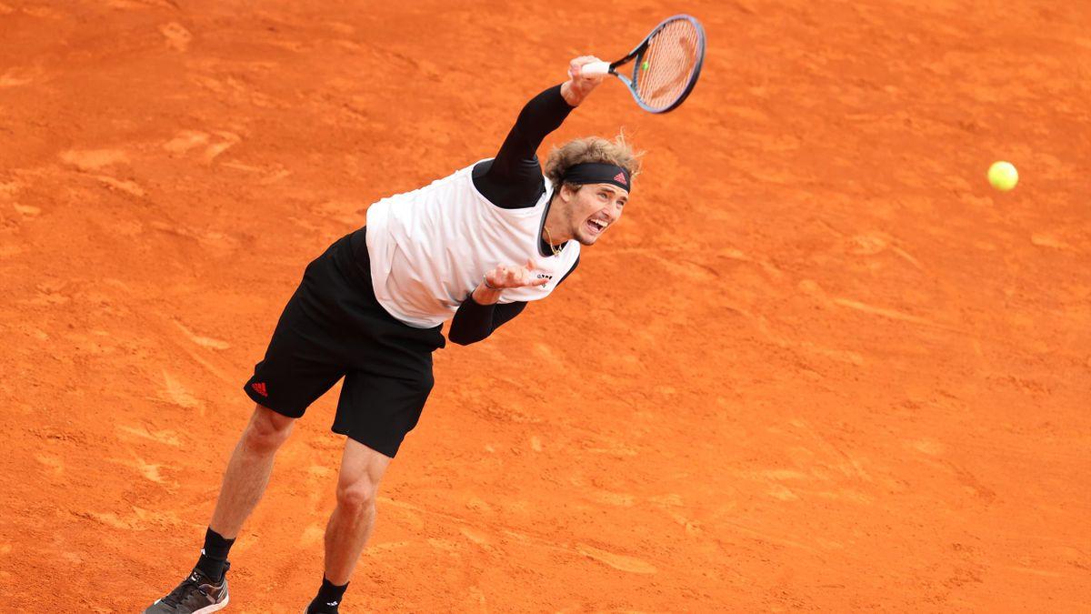 Alexander Zverev in Monte Carlo 2021