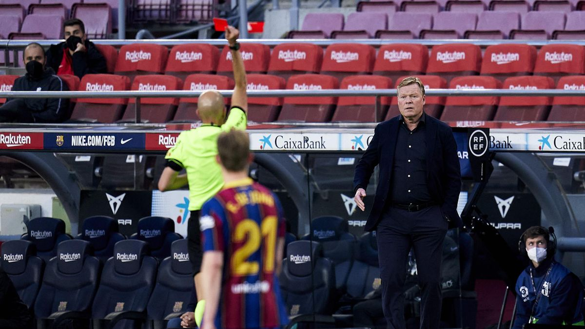Ronald Koeman - FC Barcelona vs. FC Granada