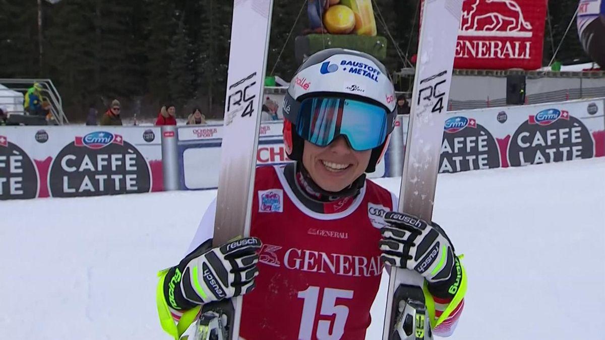 Alpine skiing : Schmidhofer's run in Lake Louise