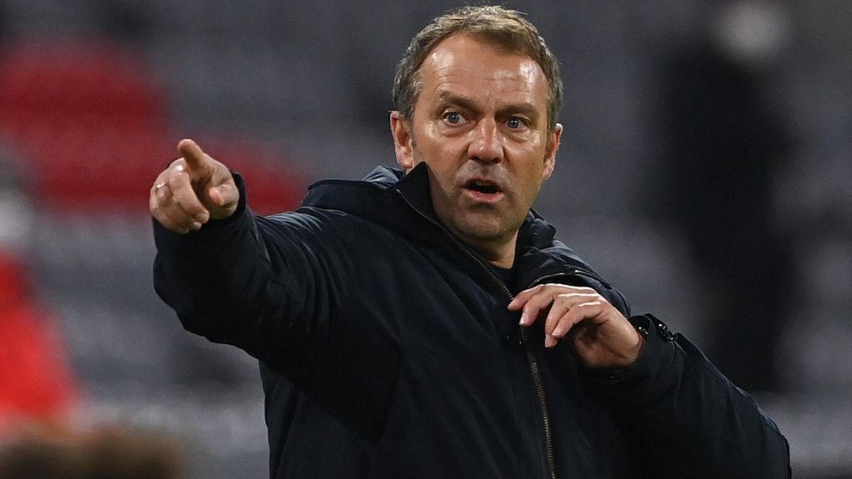 Bayern-Trainer Hansi Flick trifft sich mit SPD-Politiker Karl Lauterbach zum Gespräch