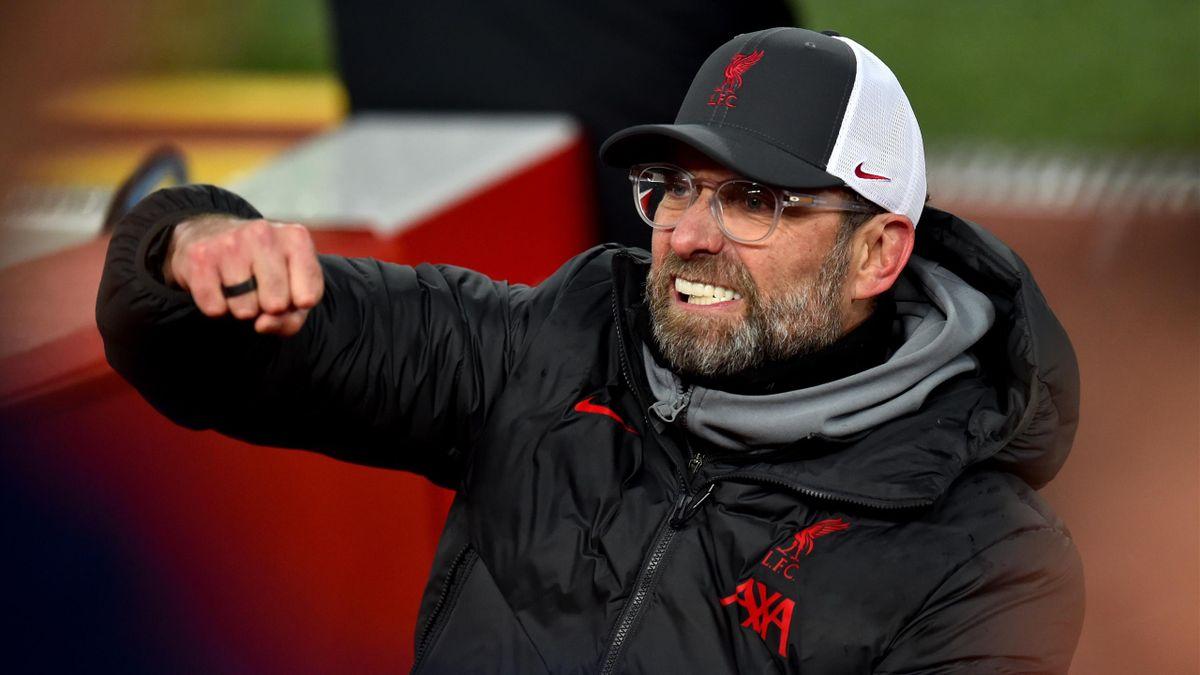 Trainer Jürgen Klopp vom FC Liverpool