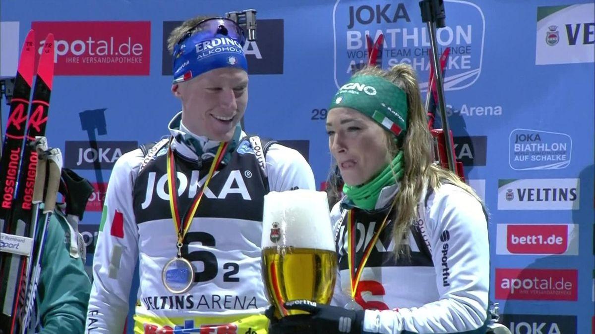 Shalke World Team Challenge - podium