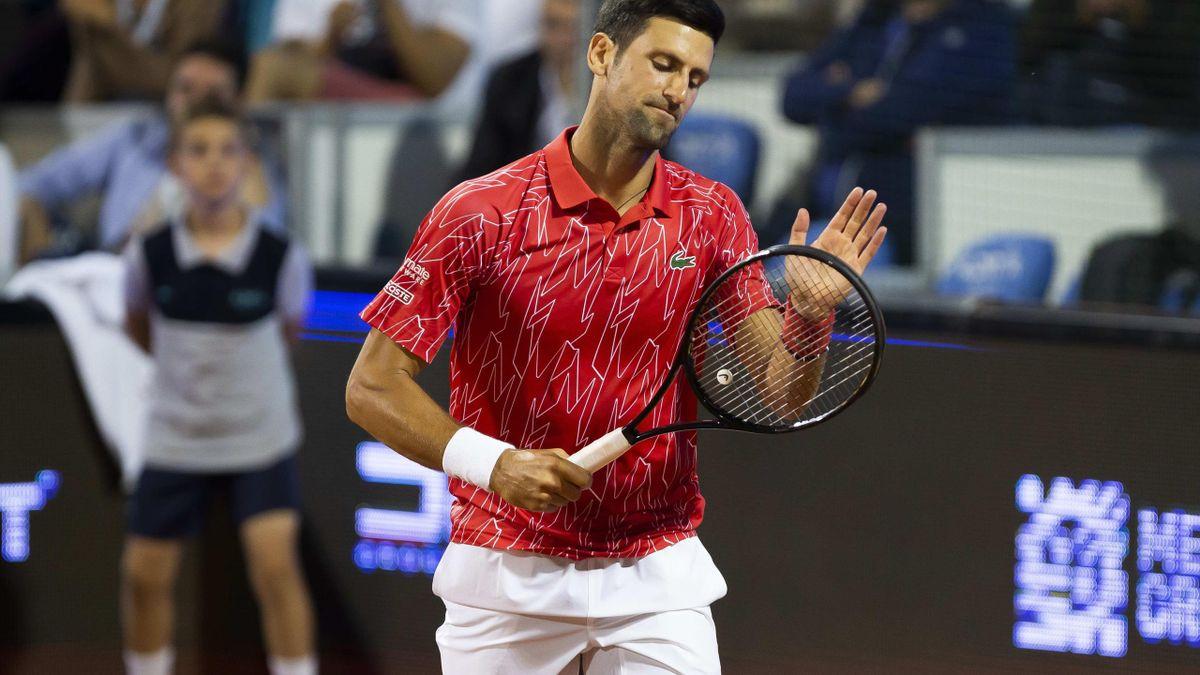 Novak Djokovic, la primul meci pierdut în 2020