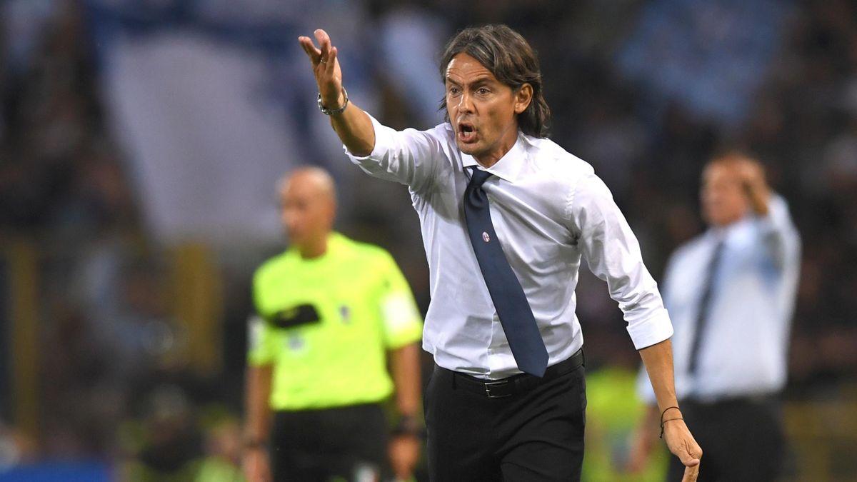 Bologna-SPAL, Serie A 2018-2019: l'allenatore del Bologna Filippo Inzaghi (LaPresse)