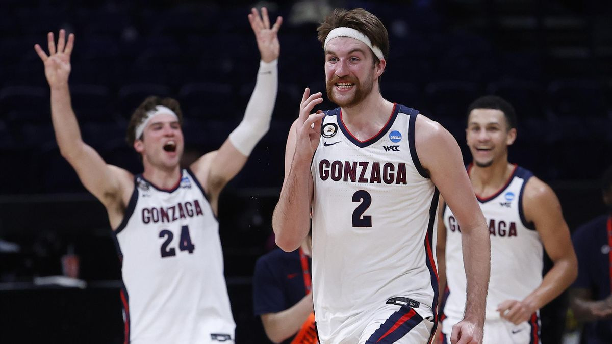Gonzaga si qualifica alla Final Four NCAA 2021