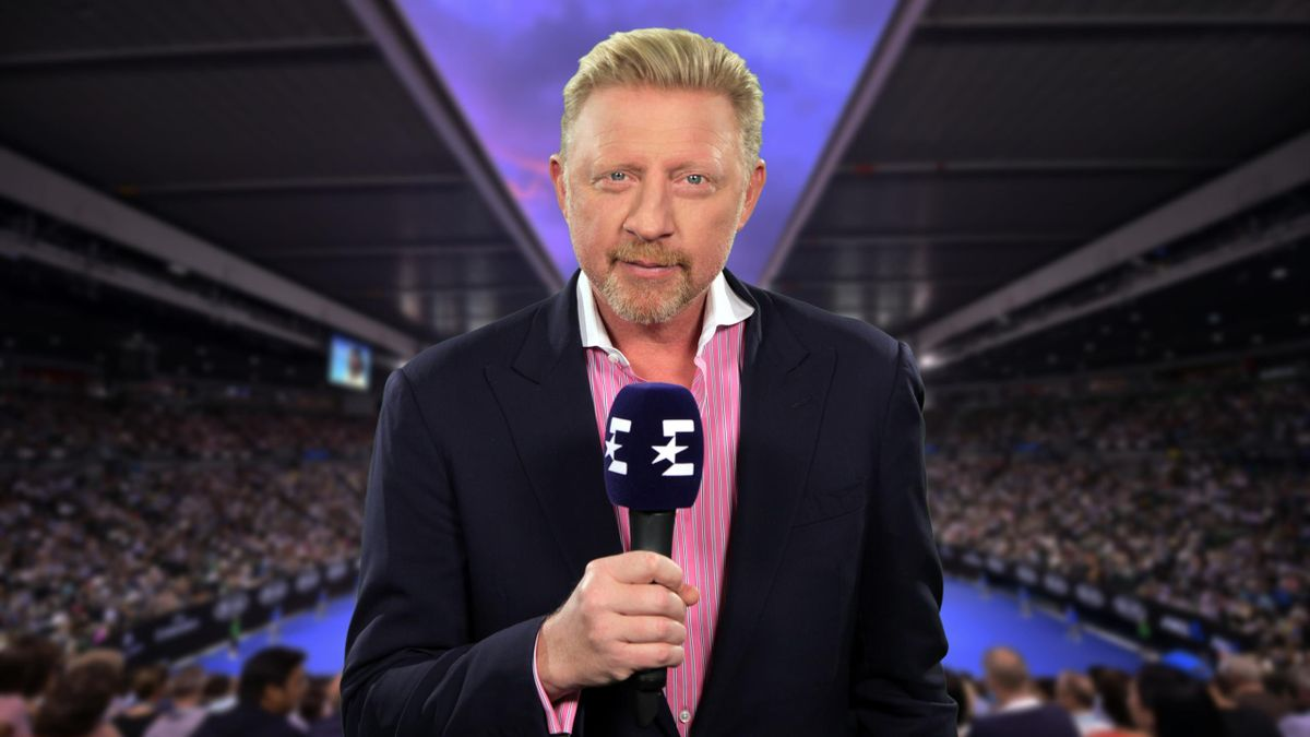 Boris Becker begleitet die Australian Open als Eurosport-Experte