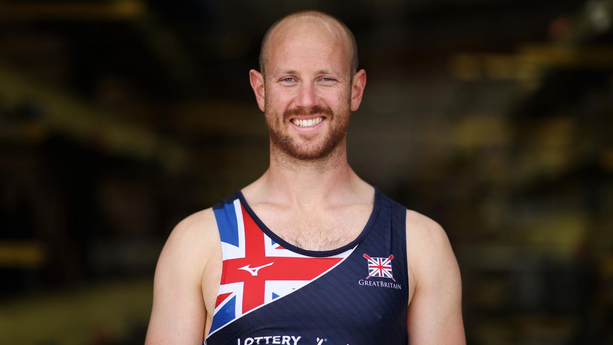 British Olympic men's four rowing hopeful Matt Rossiter
