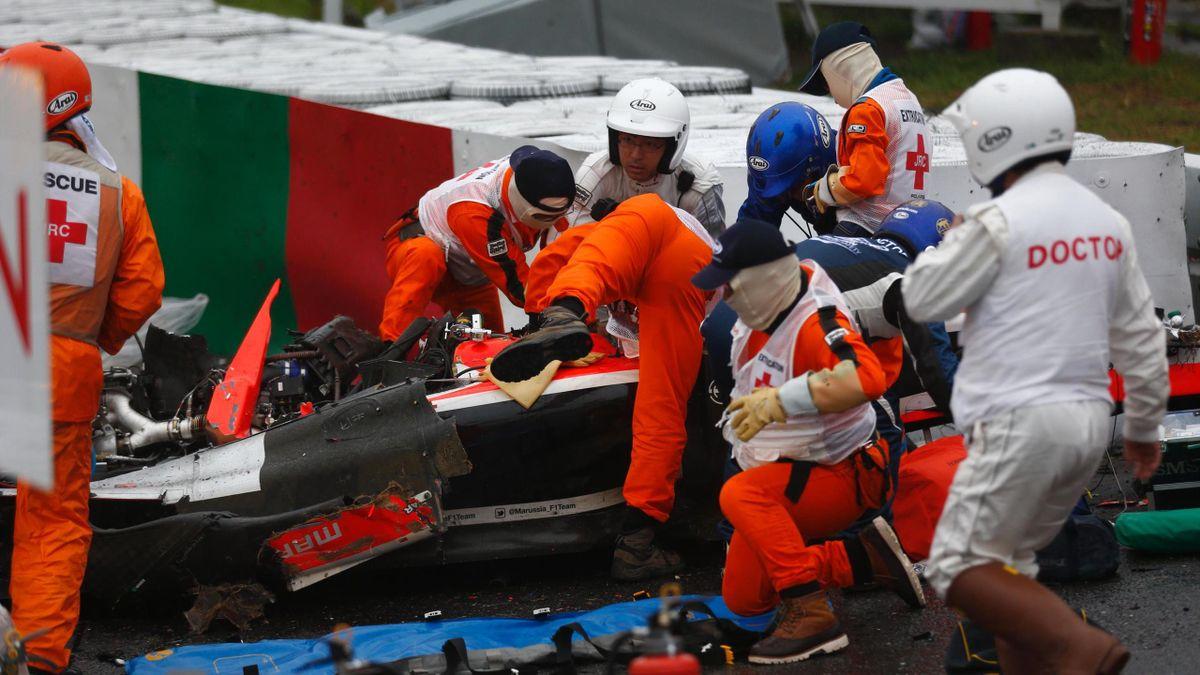 Le terrible accident de Jules Bianchi