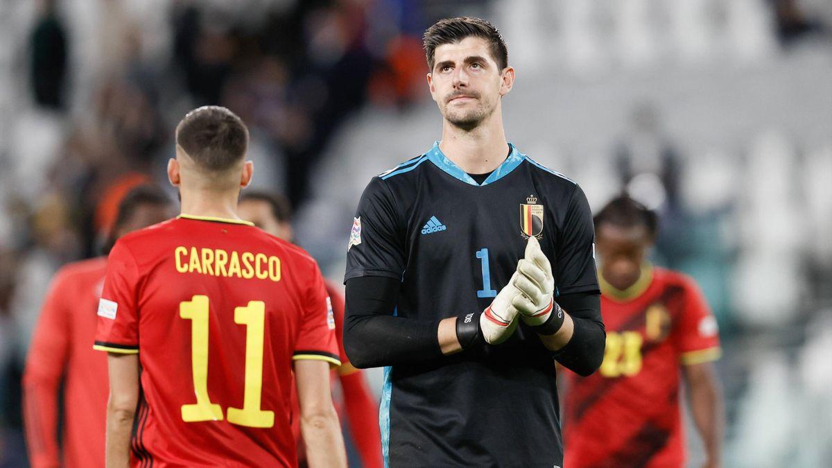 Thibaut Courtois - Belgiens Keeper klagt UEFA nach Pleite im Spiel um Platz  drei an: