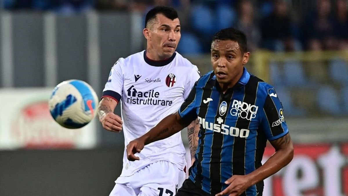 Medel e Muriel - Atalanta-Bologna - Serie A 2021-2022