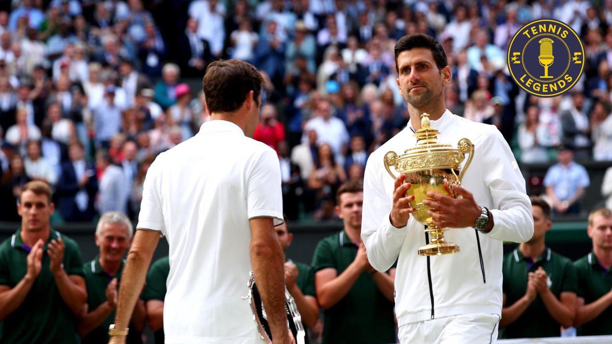 Federer - Djokovic - Finale Wimbledon 2019 - Tennis Legends