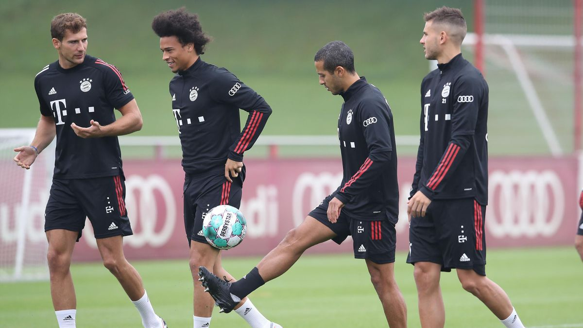 Der FC Bayern München hat das Training wieder aufgenommen