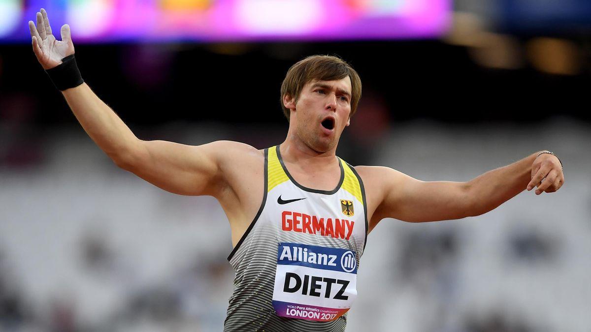 Kugelstoßer Sebastian Dietz holte Bronze in Polen