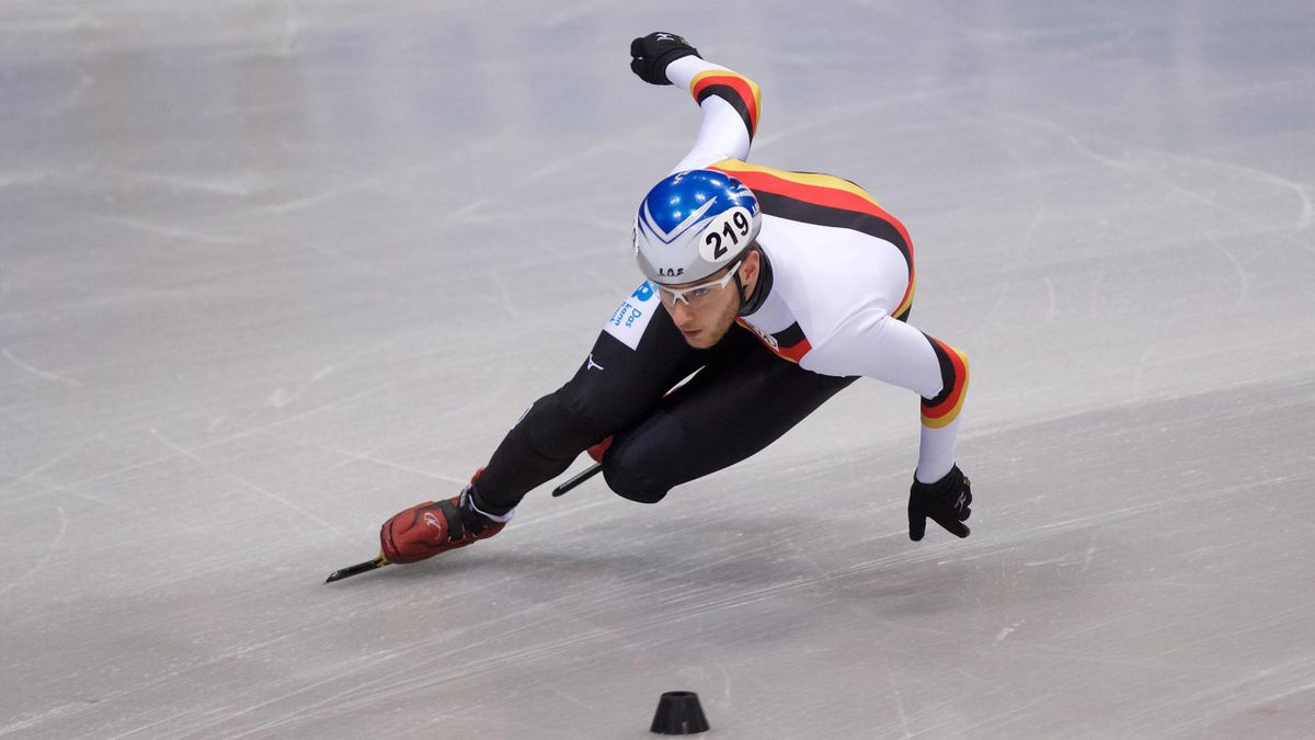 Überzeugte bei der WM über 1000 m: Shorttracker Adrian Lüdtke