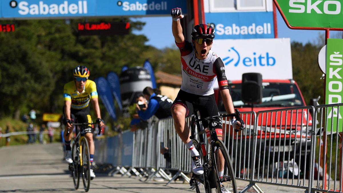 Vuelta al País Vasco (3ª etapa): Pogacar y Roglic regalan otro espectáculo grandioso