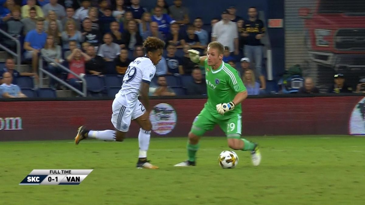 MLS : Hlts sporting kansas city v vancouver whitecaps fc