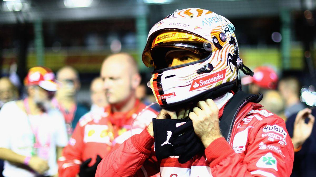 Sebastian Vettel (Ferrari) - Grand Prix of Singapore 2017