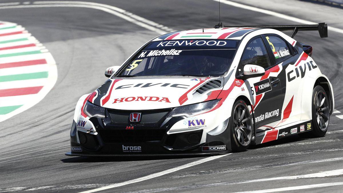 Norbert Michelisz, Honda