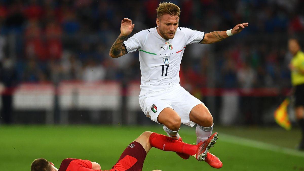 Qualificazioni Mondiali - Le pagelle di Svizzera-Italia 0-0: Jorginho  tradisce gli azzurri, Immobile mai incisivo - Eurosport