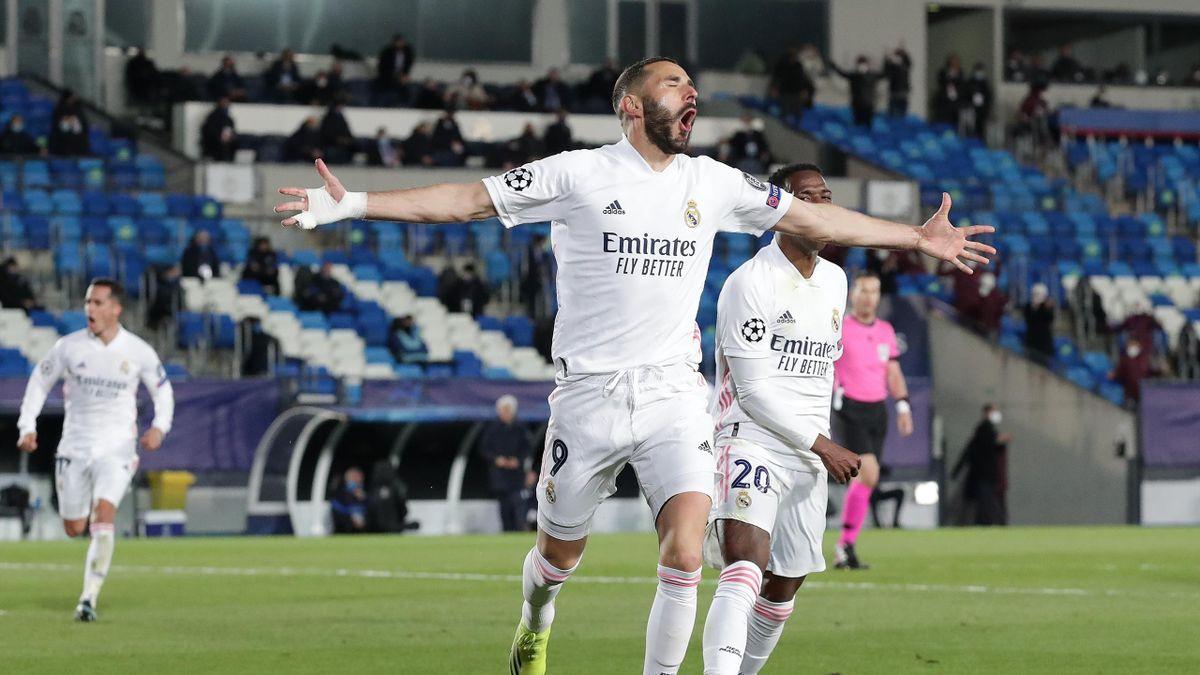 Карим Бензема, «Реал» – «Аталанта»