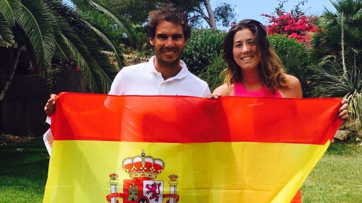 Rafa Nadal and Garbiñe Muguruza