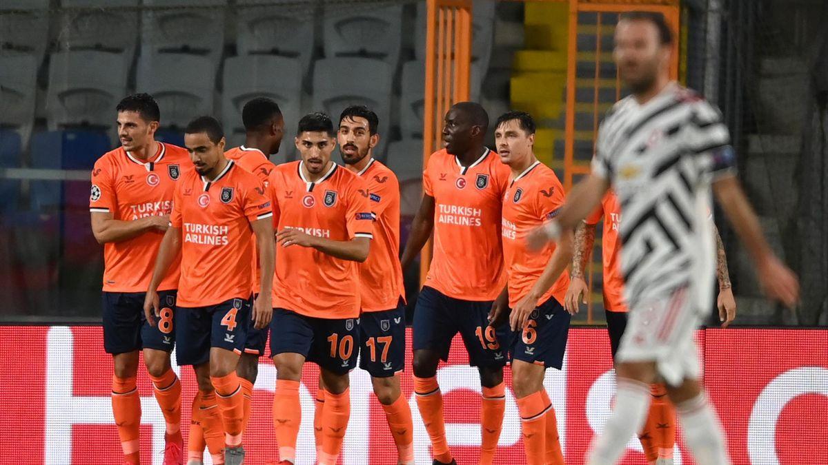 Demba Ba buteur avec Basaksehir face à Manchester United en Ligue des champions