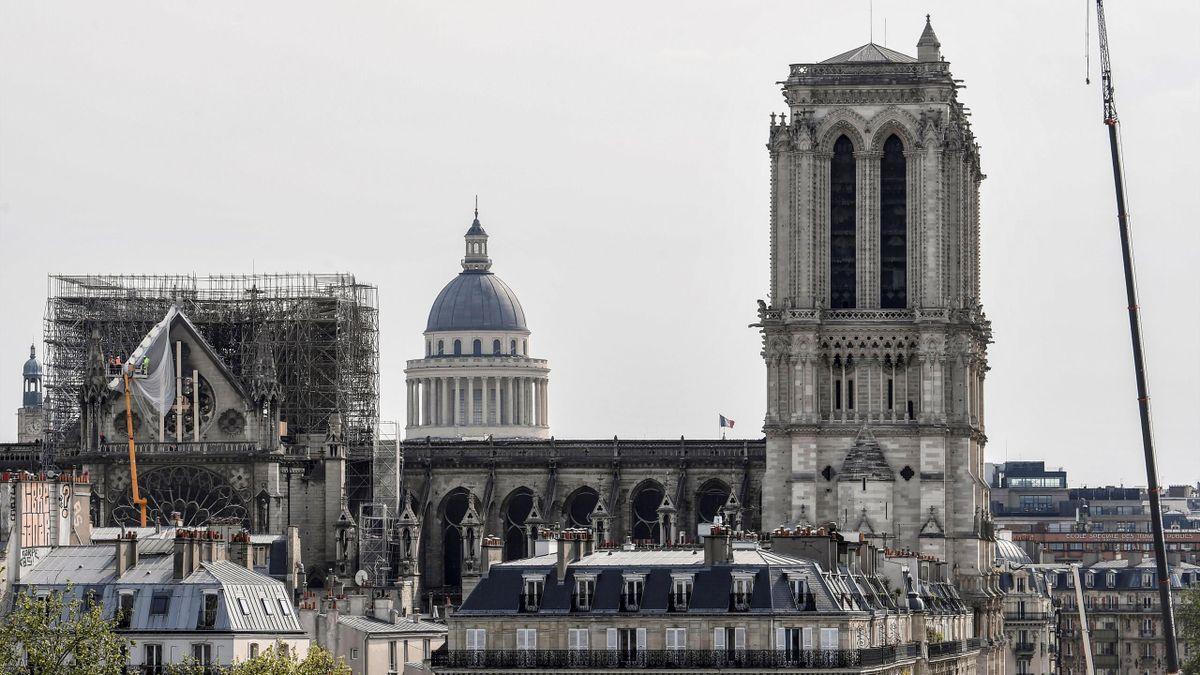Das IOC will sich am Wiederaufbau von Notre Dame beteiligen