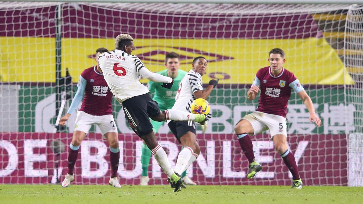 Une volée de Pogba victorieuse face à Burnley