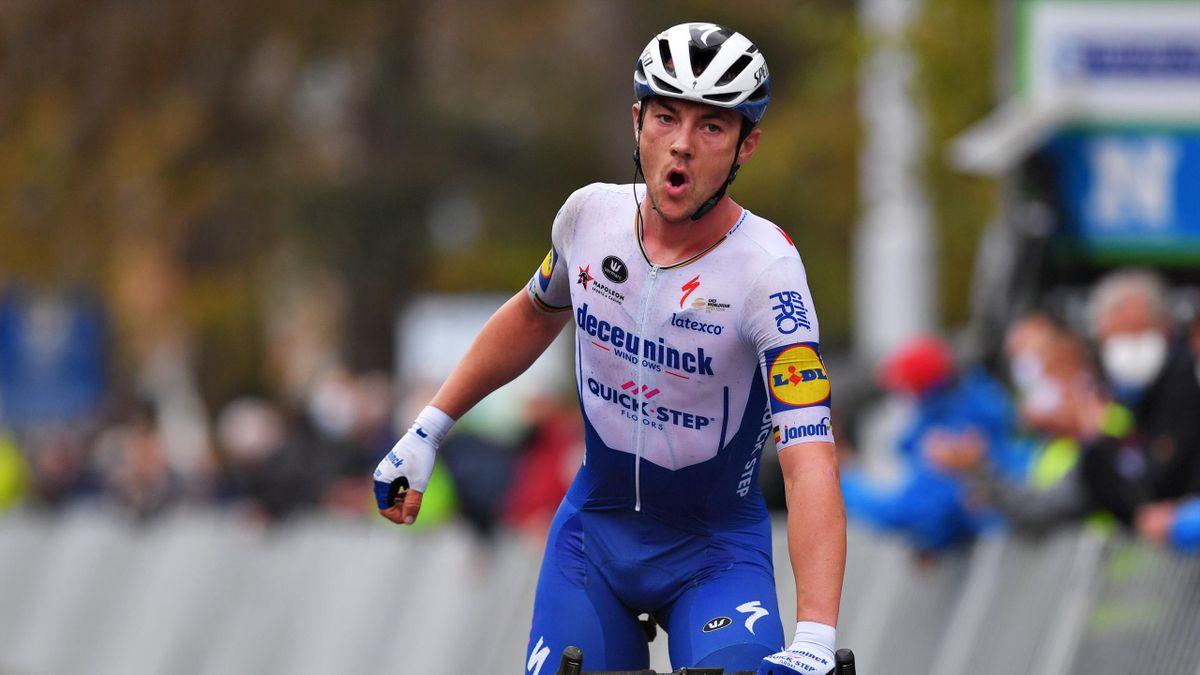 Le Belges Yves Lampaert (Deceuninck-Quick Step), vainqueur de Burges - La Panne 2020