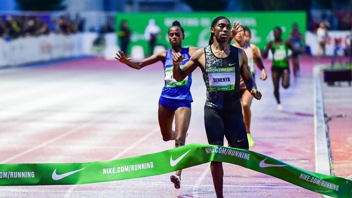 Caster Semenya wins 2000m race in France