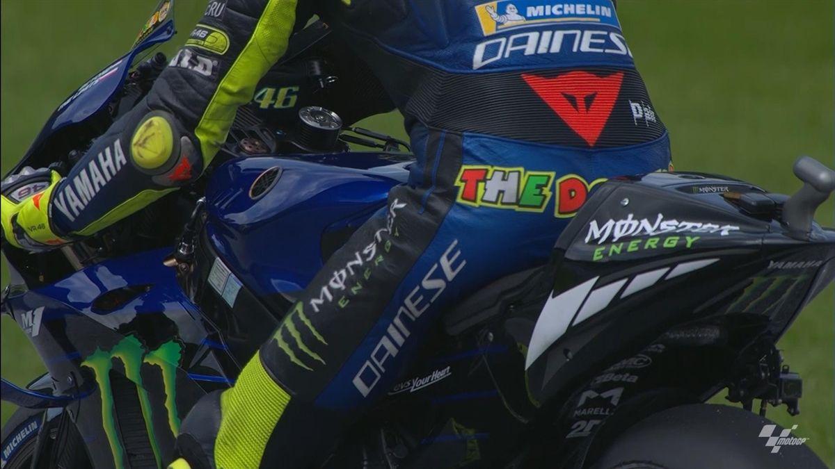 Valentino Rossi - holeshot device