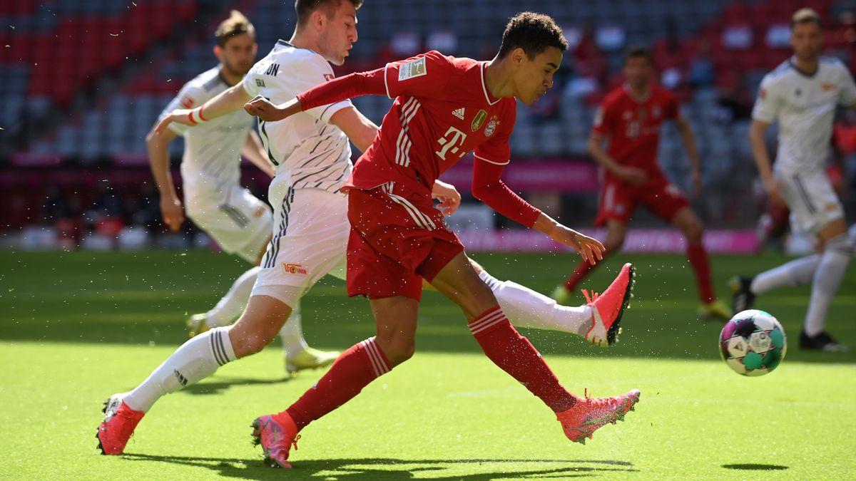 Jamal Musiala, Bayern Monaco-Union Berlino