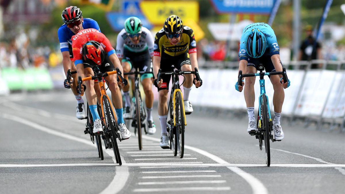 Ronde van het Baskenland | Izagirre pakt nipt zege, McNulty neemt leiding over van Roglic