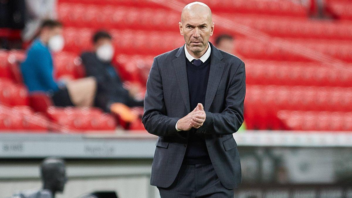 Dementierte seinen Abschied von Real Madrid: Trainer Zinédine Zidane