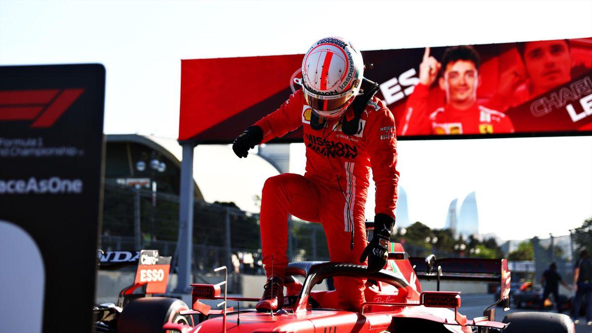 Charles Leclerc (Ferrari). GP Azerbaiyán 2021