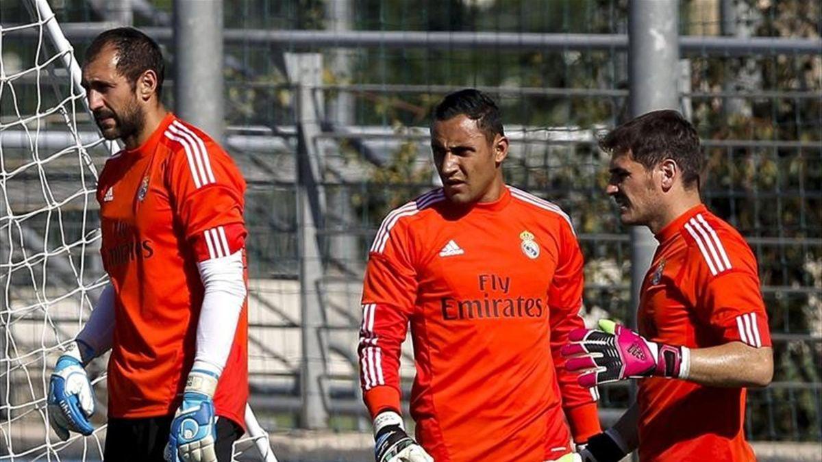 Iker Casillas se deshace en elogios hacia Keylor Navas - Eurosport