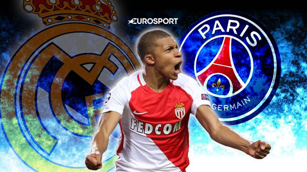 PSG muscle in on Real Madrid target Mbappe - Euro Papers