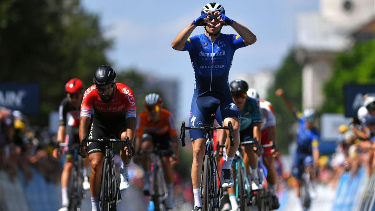 Álvaro Hodeg vince la tappa di Bourg-en-Bresse al Tour de l'Ain 2021